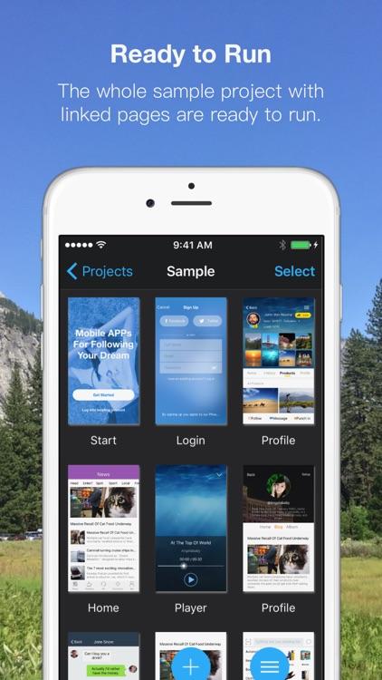 Xpage - Prototyping Design screenshot-4