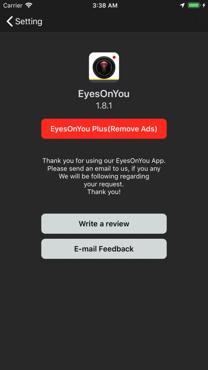 EyesOnYou DashCam screenshot-3