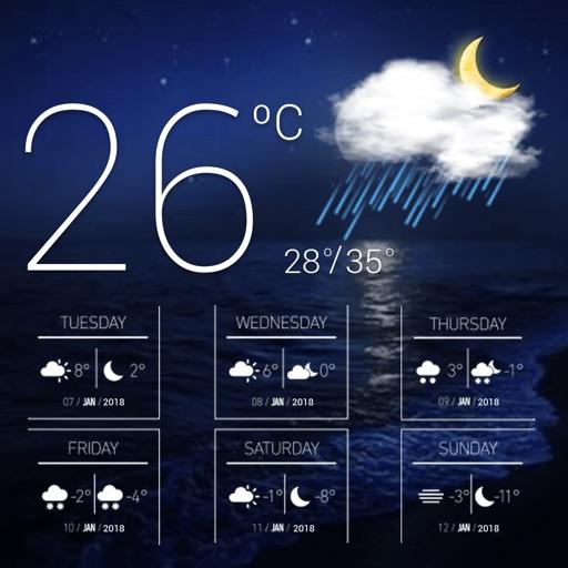 прогноз погоды & виджет