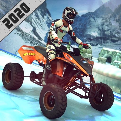 ATV Quad Bike: Mountain Stunts