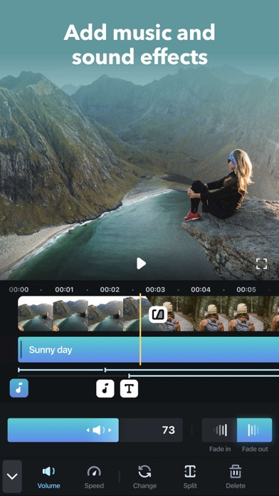 Splice - Video Editor & Maker Screenshot