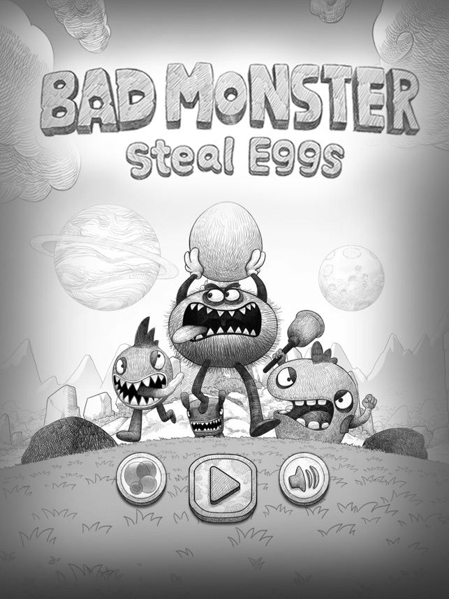 Bad Hungry Monster Screenshot