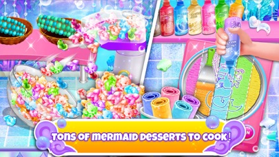 Unicorn Chef: Mermaid Cooking Screenshot on iOS