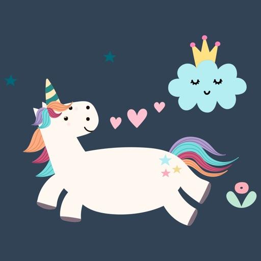 Believe in Unicorn Sticker Set