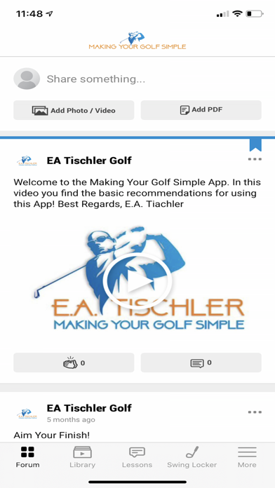 Making Your Golf Simple Screenshot