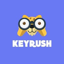 KeyRush - Coupons Keyboard