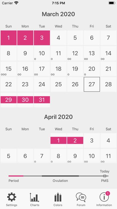 Menstrual Period Trackerのおすすめ画像1