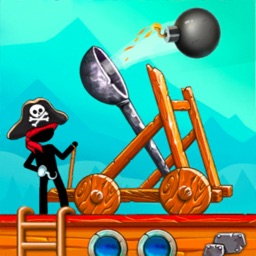 The Catapult: stick man game