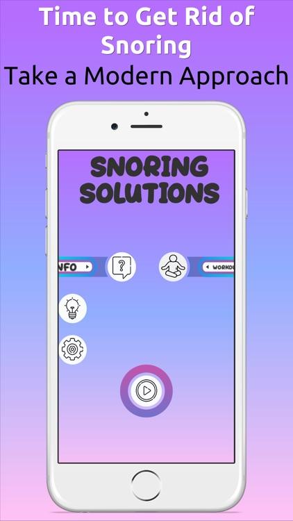Snoring Solutions