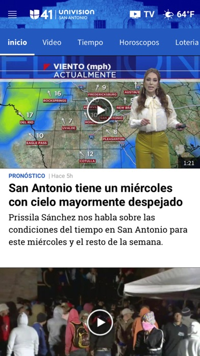 Univision 41 San Antonio screenshot 3