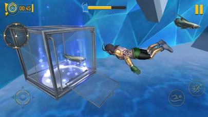 Superhero Aqua Man screenshot 2