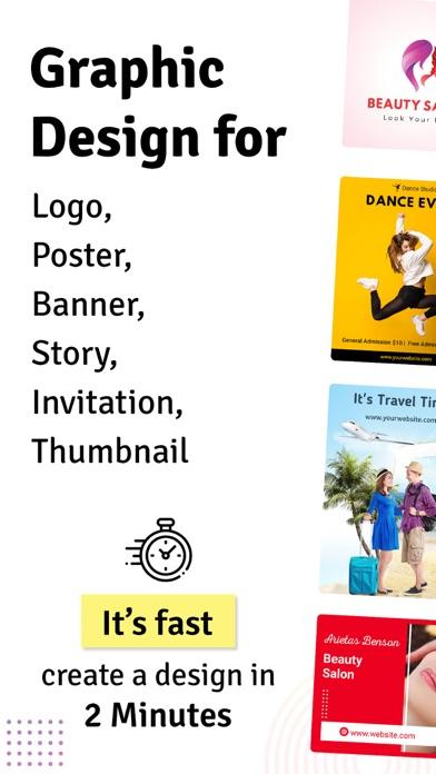 Logo Maker Poster Creator review screenshots