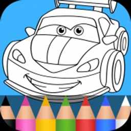Cars Coloring Pages & Race