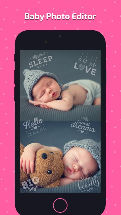 Baby Photo Art - Monthly Pics screenshot-6
