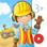 Meine Bauarbeiter: Wimmelapp