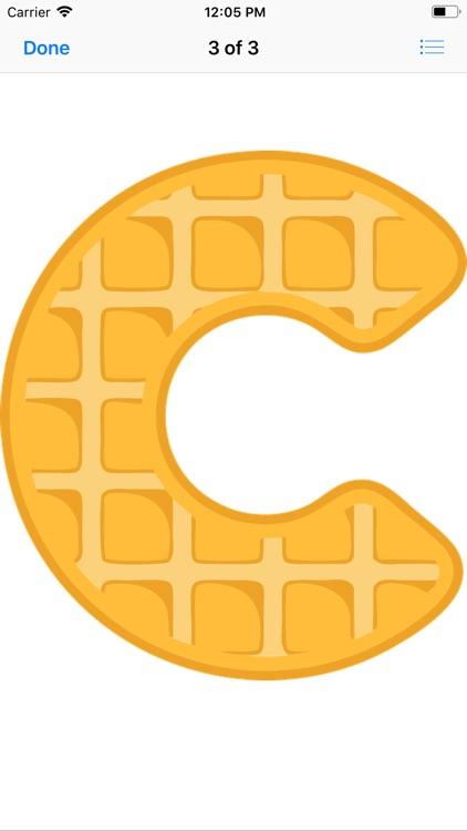 Waffle Letters screenshot-4