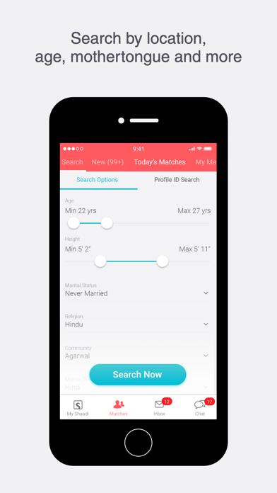 Shaadi.com: Matrimony App Screenshot