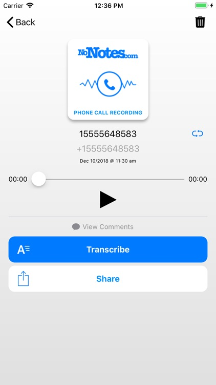 Call Recording by NoNotes screenshot-4