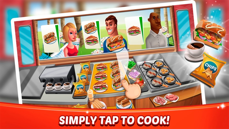 Fast Food Craze - Cooking Game