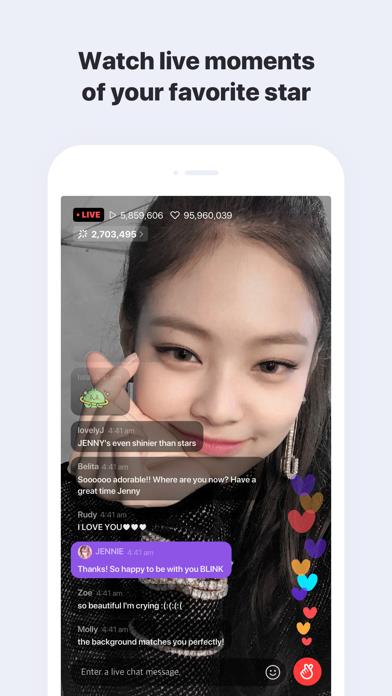 V LIVE :App for stars and fans Screenshot