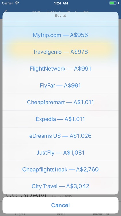 TRAVELO Flights, Hotels & Cars screenshot-4