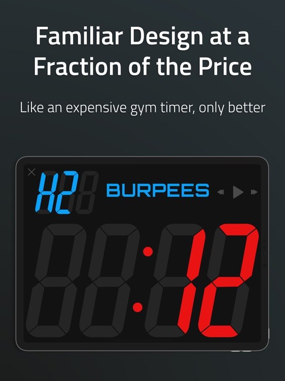 Grit Workout & Gym Timer - Pro