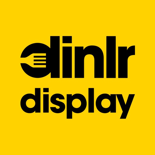 Dinlr Waiter Display