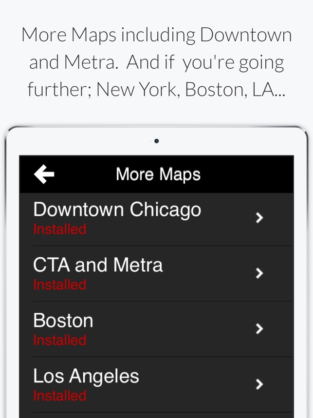 Chicago L - Subway Map im App Store