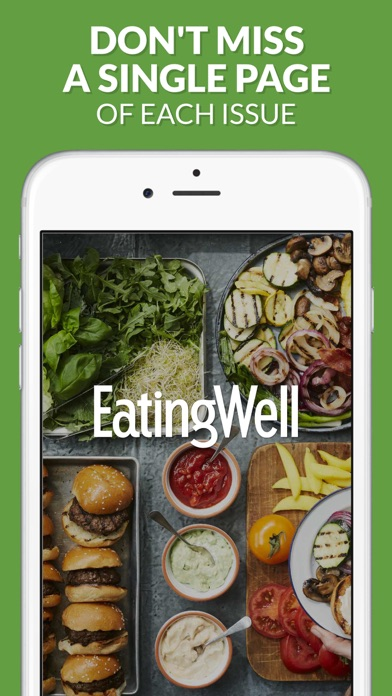 Screenshot for EatingWell Magazine in United States App Store