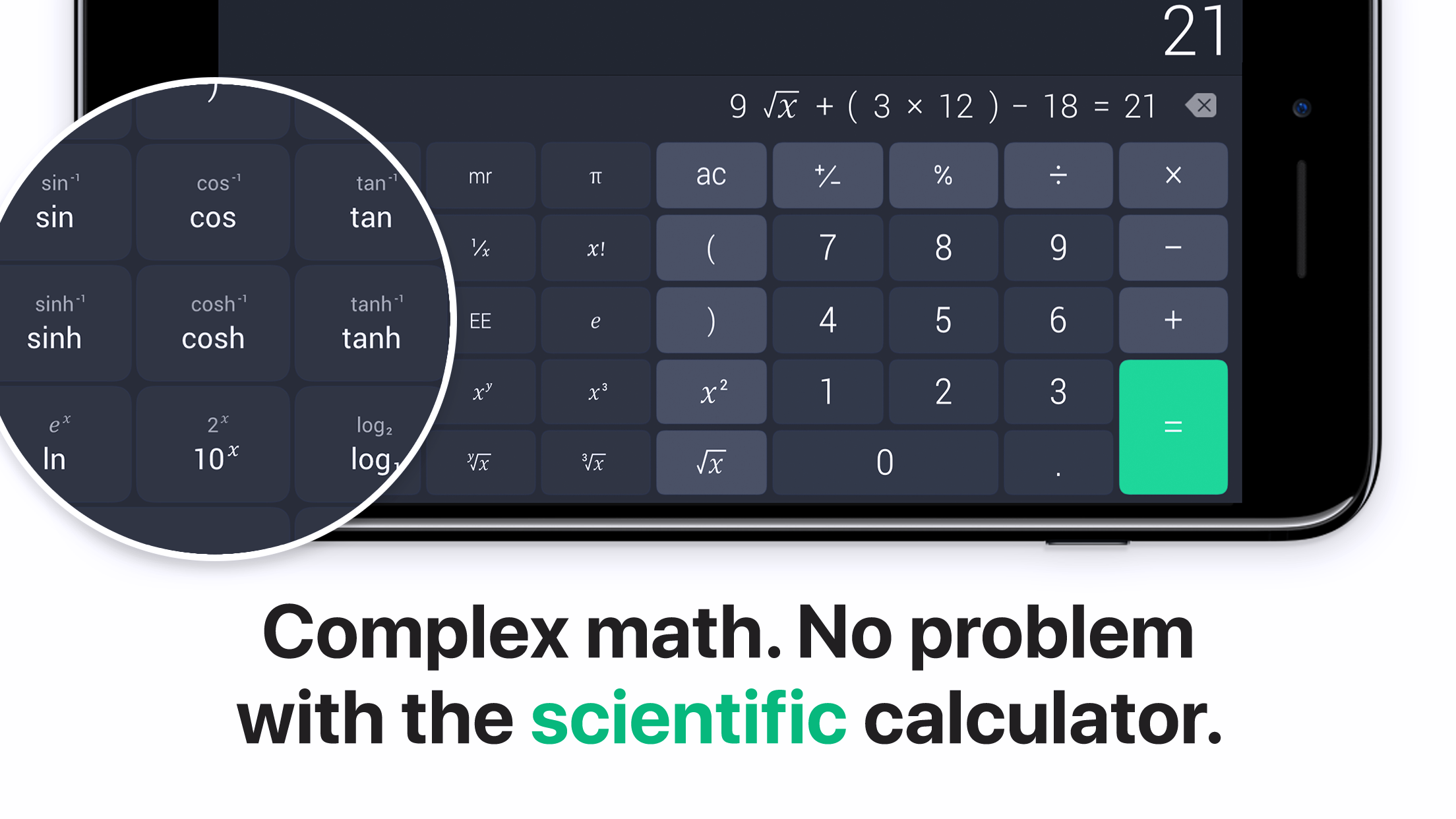 The Calculator Screenshot