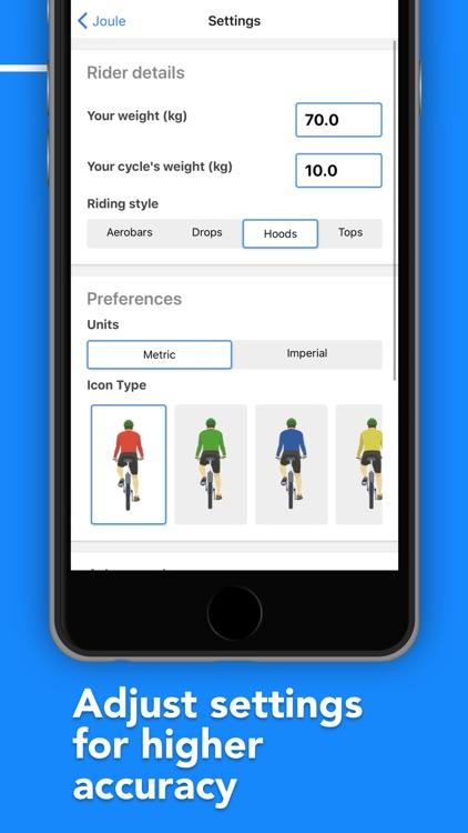 Joule - Cycling computer screenshot-5