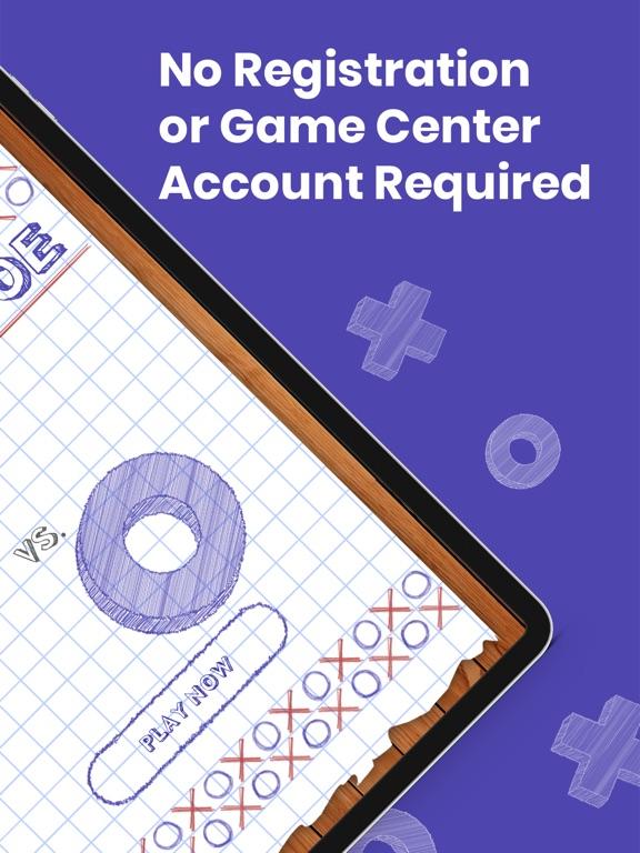 Screenshot #2 for Tic Tac Toe - Online Easy Game