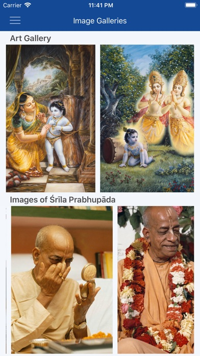 Screenshot for Kṛṣṇa in Switzerland App Store