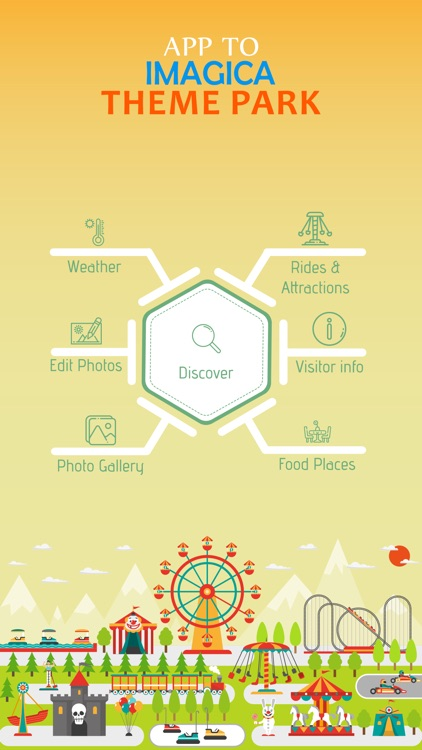 App to Imagica Theme Park