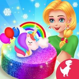Magic Princess Baking Games