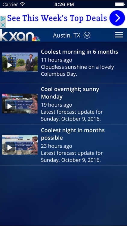 KXAN Weather screenshot-4