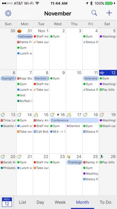 BusyCal Screenshots