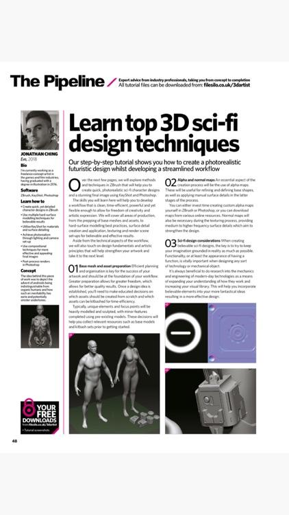 3D Artist Magazine: CG skills screenshot-7