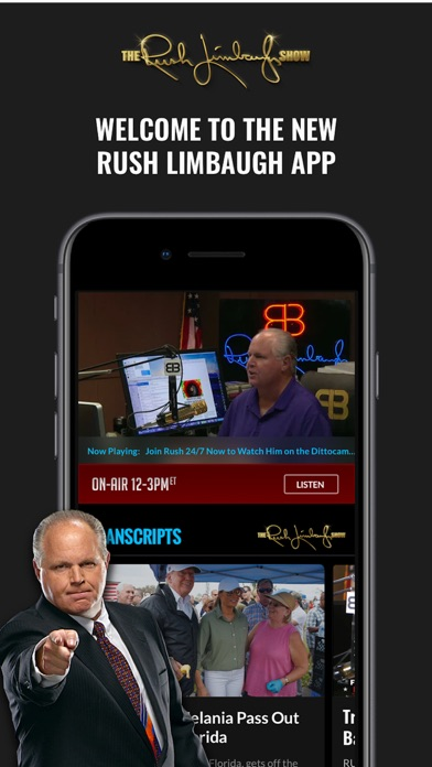 Rush Limbaugh Screenshot
