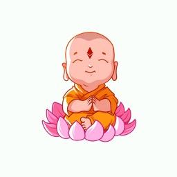 Baby Buddha Stickers