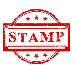 Stamp Stickers - Rubber Ink