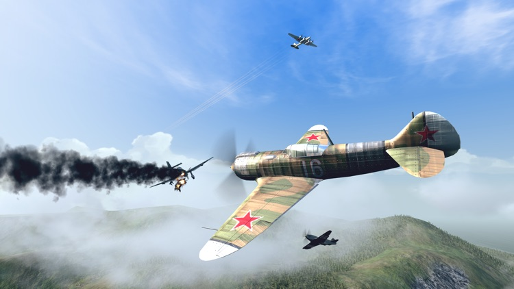 Warplanes: WW2 Dogfight FULL screenshot-5