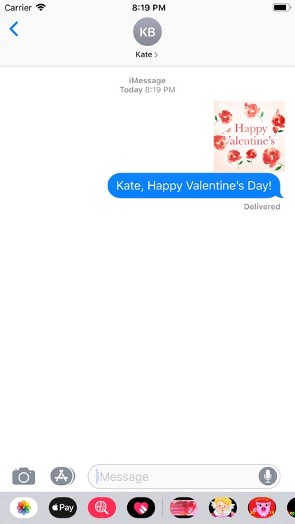 Animated Valentine's Sticker
