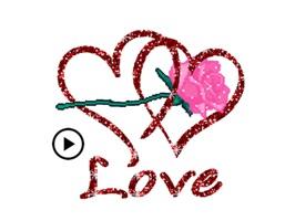 Sweet Love In Valentine's Day