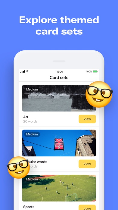 Flashcards app by Remember app image