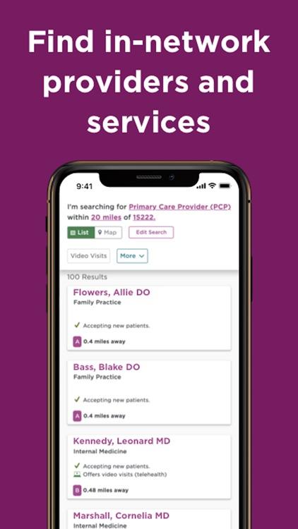 UPMC Health Plan screenshot-6