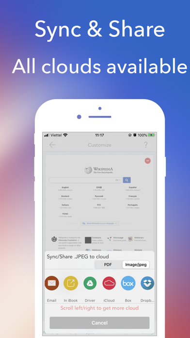 PDF Editor - Creator, ReaderScreenshot of 4