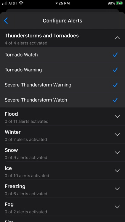 NOAA Weather Radio screenshot-4