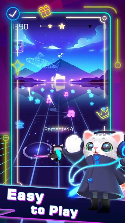 Sonic Cat-Slash the Beats screenshot-0