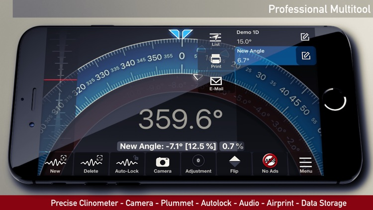 iLevel - Protractor & Level screenshot-4